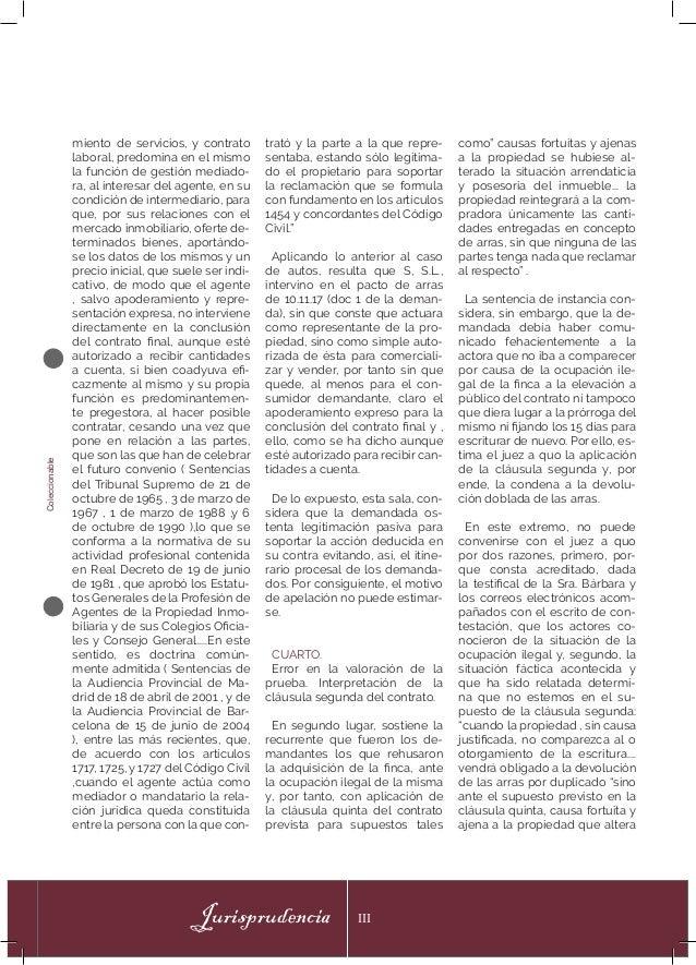 Coleccionable Jurisprudencia III miento de servicios, y contrato laboral, predomina en el mismo la función de gestión medi...