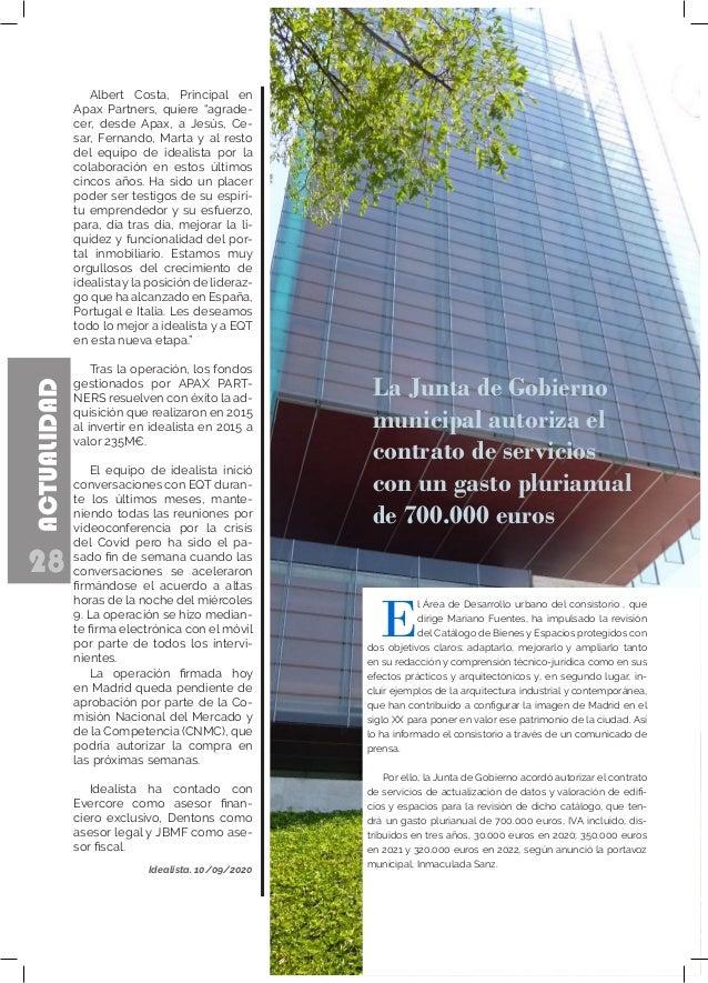 28 ACTUALIDAD La Junta de Gobierno municipal autoriza el contrato de servicios con un gasto plurianual de 700.000 euros E ...