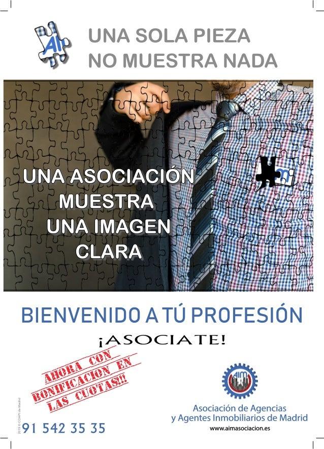 UNA SOLA PIEZA NO MUESTRA NADA UNA ASOCIACIÓN MUESTRA UNA IMAGEN CLARA BIENVENIDO A TÚ PROFESIÓN Asociación de Agencias y ...
