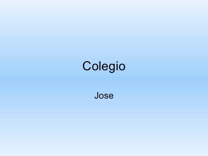 Colegio Jose