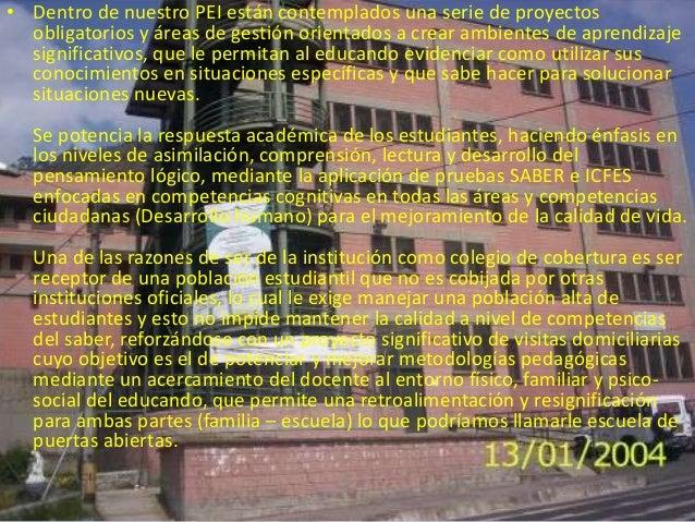 CAMBIO DE ADMINISTRACION• EN EL AÑO PRESENTE (2013) EL COLEGIO JESUSMARIA VALLE JARAMILLO FUE CAMBIADO DEADMINISTRACION , ...