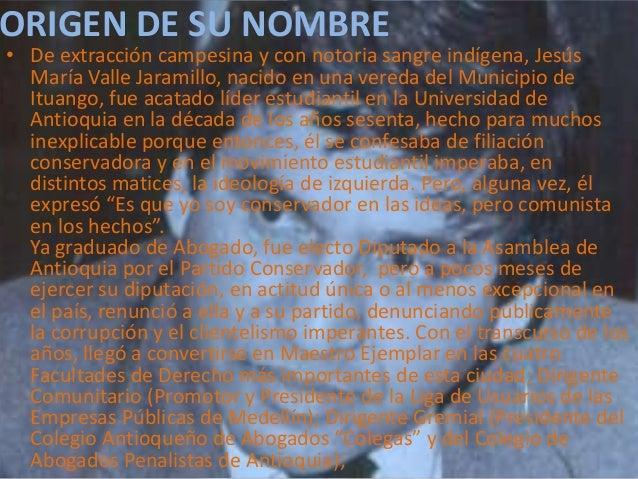 """• Dirigente Gremial (Presidente del Colegio Antioqueño de Abogados""""Colegas"""" y del Colegio de Abogados Penalistas de Antioq..."""