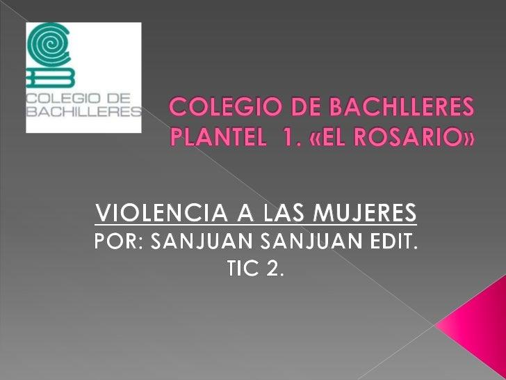  La violencia contra las mujeres es una  afrenta a sus derechos humanos y es  perpetrada precisamente por su condición  d...