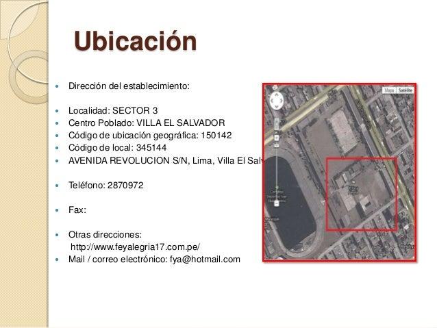 Colegio Fe Y Alegr A N 17