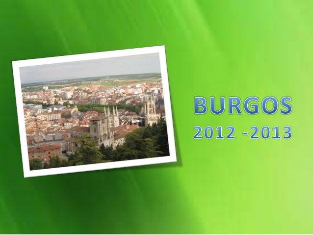 """Colegio """"Jesús Reparador""""- BurgosCurso escolar 2012-2013Una familia norteamericanainserta en la ciudad castellana(Burgos) ..."""
