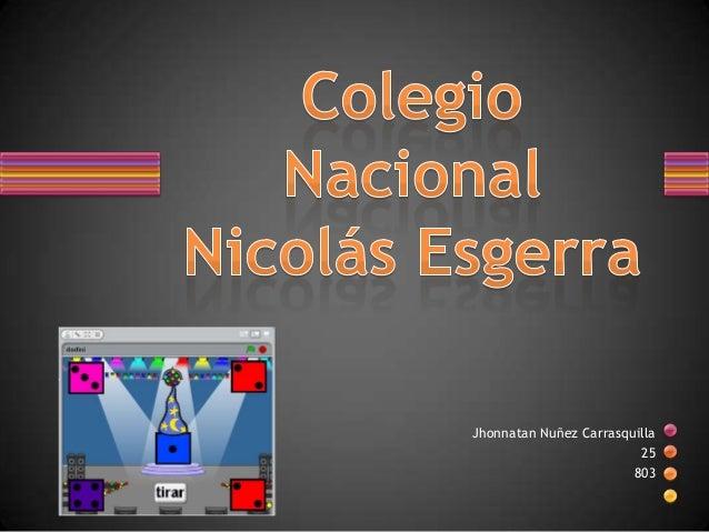 Jhonnatan Nuñez Carrasquilla25803