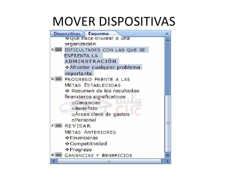 MOVER DISPOSITIVAS