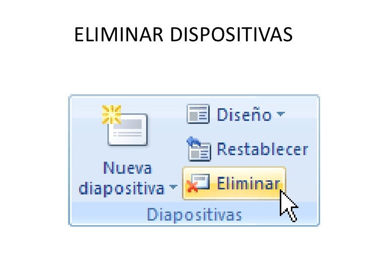 ELIMINAR DISPOSITIVAS