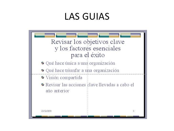 LAS GUIAS