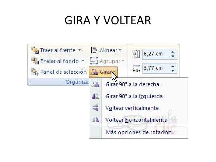 GIRA Y VOLTEAR
