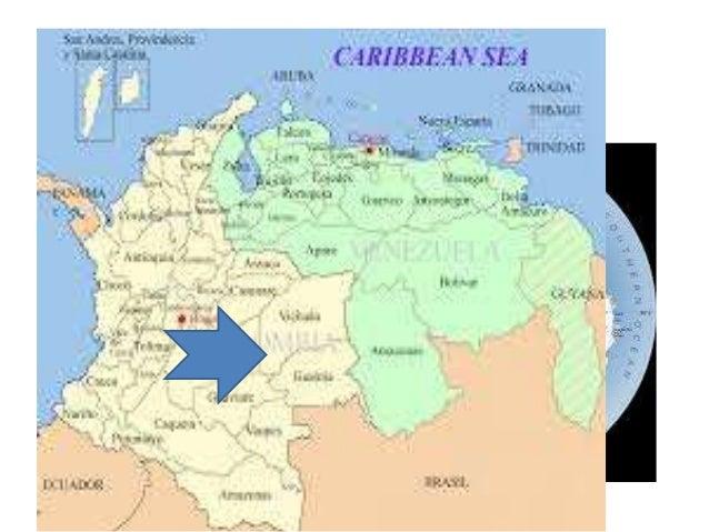 MAPA DE RUTA • RECORRIDO:-75.169850,11740631