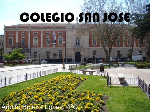 COLEGIO SAN JOSEAdolfo Boleira López, 4ºC