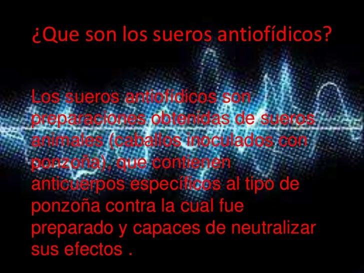 SUEROS ANTIOFIDICOS Slide 3