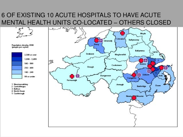 13Location of Level 4 Facilities6 OF EXISTING 10 ACUTE HOSPITALS TO HAVE ACUTEMENTAL HEALTH UNITS CO-LOCATED – OTHERS CLOSED