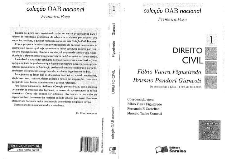 ColeçãO Oab Nacional   Primeira Fase, Vol