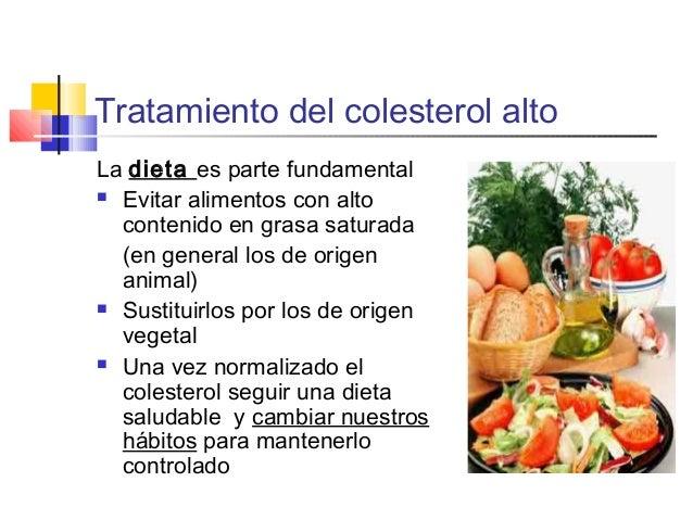 Dieta para el cholesterol alto y adelgazar y