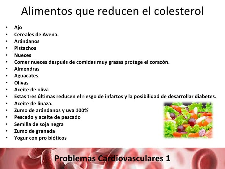 Colesterol y triglic ridos - Alimentos que bajen los trigliceridos ...