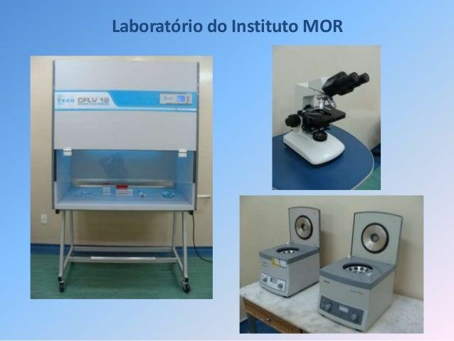 Laboratório do Instituto MOR