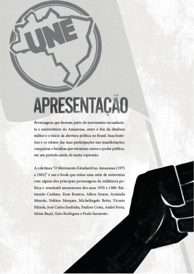 Coletânea de entrevistas: Movimento estudantil no Amazonas - 1975 a 1985  Slide 2