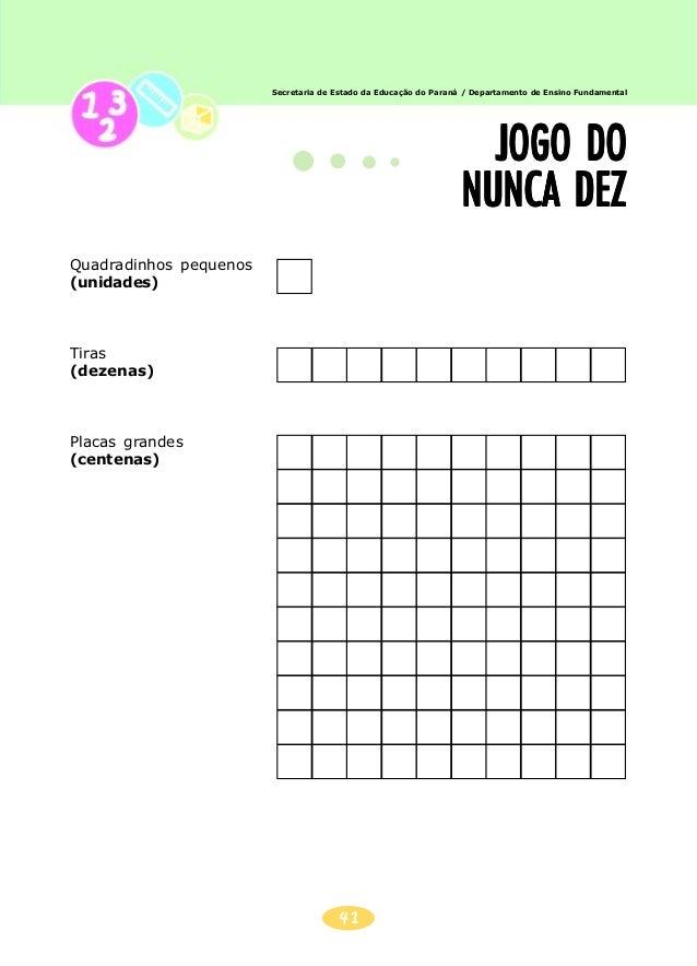 42 Secretaria de Estado da Educação do Paraná / Departamento de Ensino FundamentalSecretaria de Estado da Educação do Para...