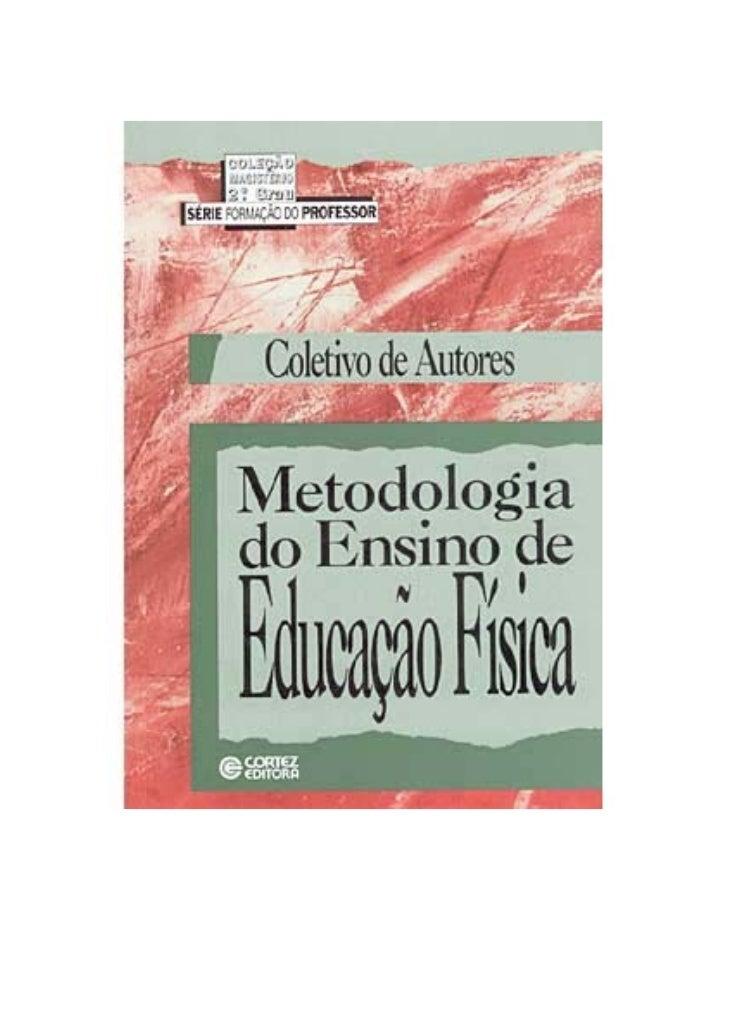 Coletivo de autores   metodologia de ensino da ed. física
