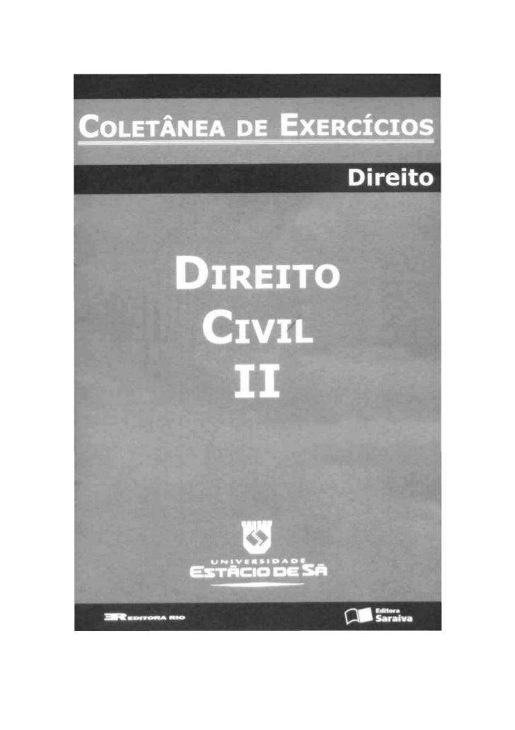 DIREITO CIVIL II —  OBRIGAÇÕES    1º semestre de 2008
