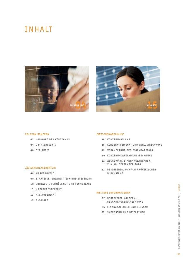 Quartalsbericht 3/2010 Slide 3