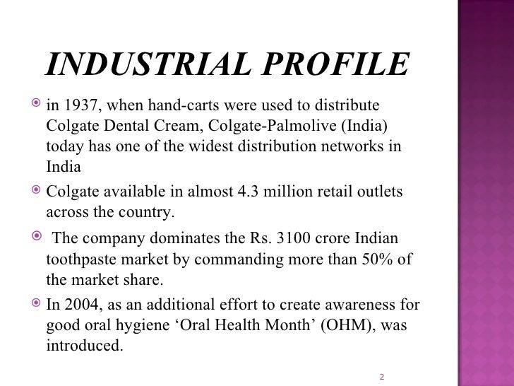 colgate company profile