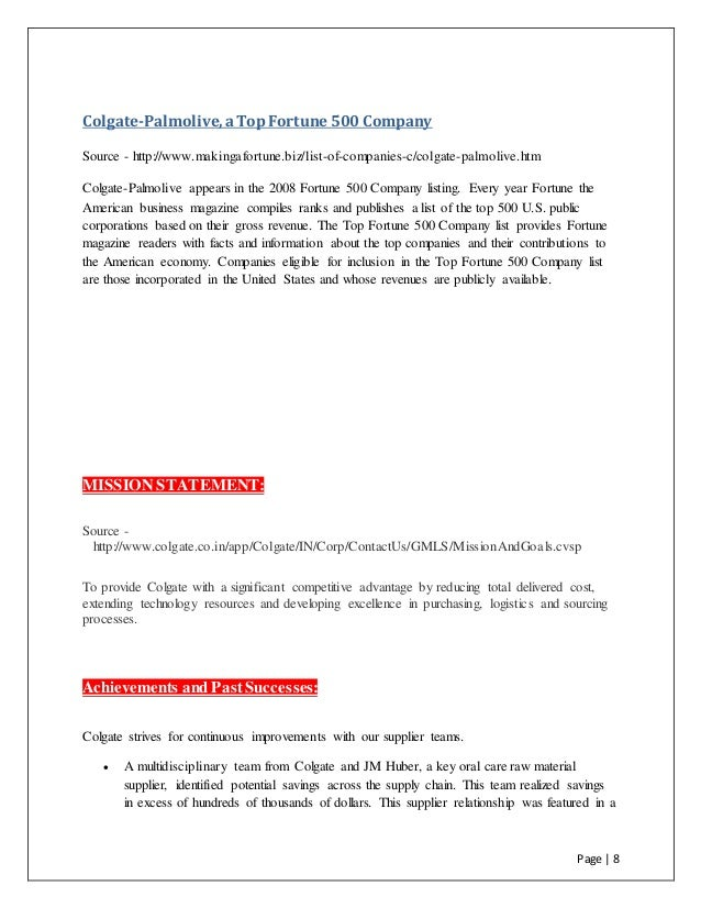 colgate palmolive international business strategy essay Case study #2: colgate-palmolive draws on its global database to evaluate marketing strategies with more than $17 billion in annual sales, colgate-palmolive's global operations span dozens of countries.