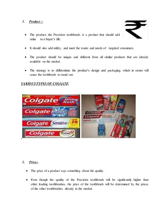 promotion mix colgate Based on this insight, colgate implemented a special promotion that helped build awareness for good oral care habits and offered scholarships to children another way colgate connects with today's consumers globally is by utilizing integrated marketing communications that include a mix of traditional and non-traditional media.