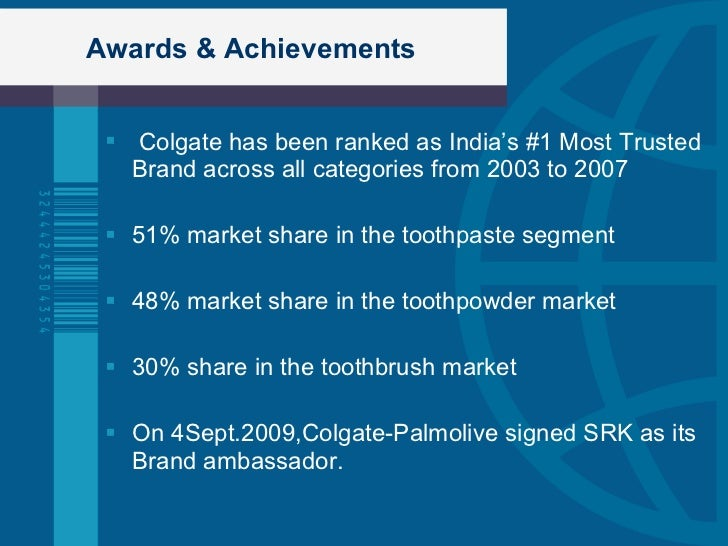 current marketing situation of colgate palmolive Read this essay on colgate segmentation strategy colgate palmolive marketing strategies and programs introduction colgate palmolive company is a $171 billion global company serving people in more than 200 countries to ease this situation what the current chairman ian.