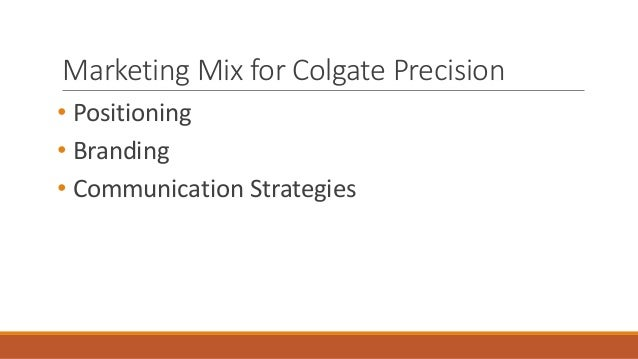 Colgate-Palmolive Co.: The Precision Toothbrush Case Solution & Analysis