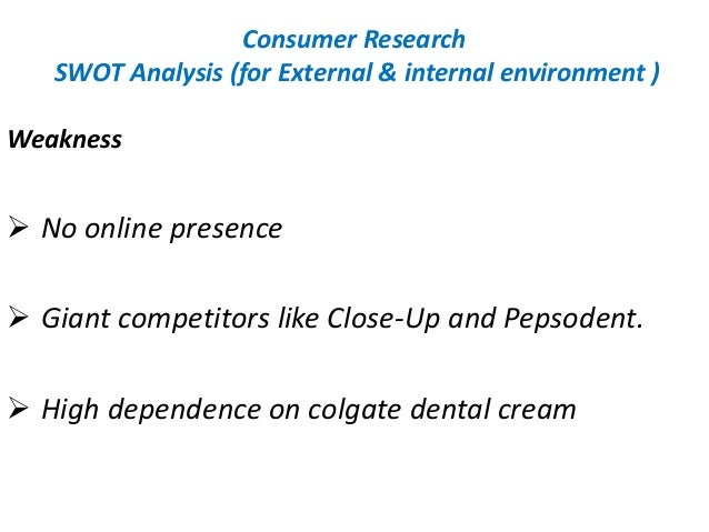 Colgate competitor analysis