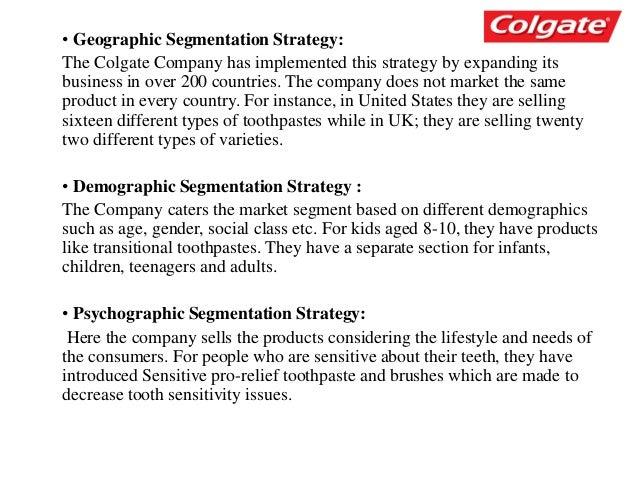 colgate marketing strategy ppt