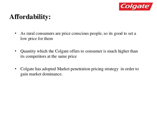 rural marketing strategy by colgate Toothpaste colgate segmentation group 2 ruwa jabr  the no 1 toothpaste colgate success story  13 marketing strategies to succeed in rural india - duration:.