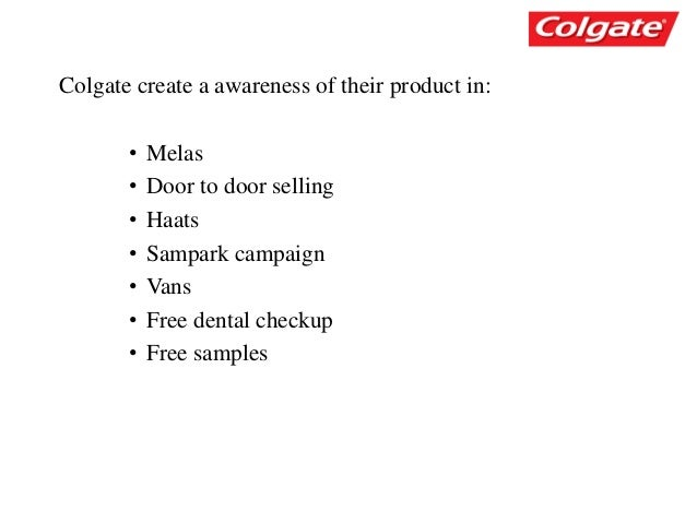 strategies for rural marketing by colgate Case studypromoting oral health in rural india: the case of pepsodent global business review 16(3) 524–536.