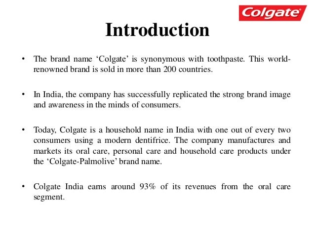 colgate hinterland marketing in india Wave of consumption sweeps the hinterland  runs a store, the first such in his  village, that sells colgate toothpaste, priya gold biscuits,  india's rural market is  the largest in the world with 840 million people, or 684% of the.