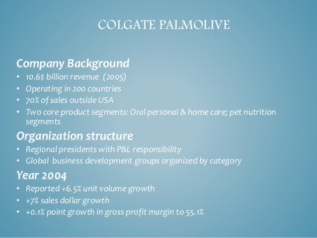 colgate max fresh global brand roll out Colgate max fresh: global brand roll-out an analysis nachiket  mujumdar 20130120120 introduction colgate max fresh's (cmf) introduction to  the.