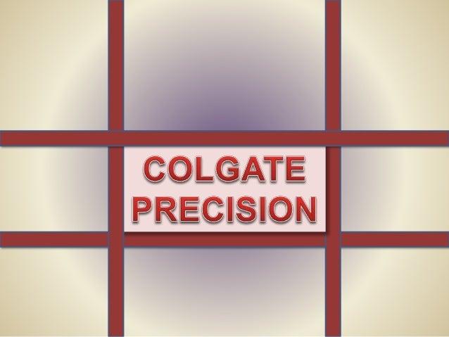 Colgate the precision toothbrush essay