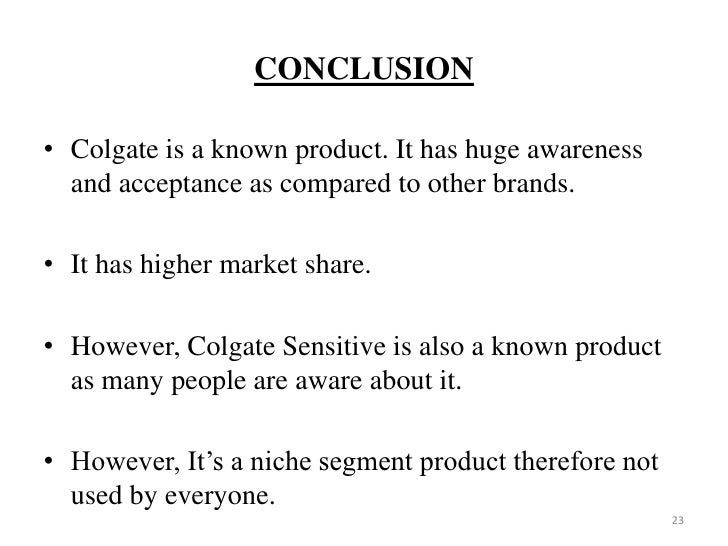 Case Study Crest and Colgate