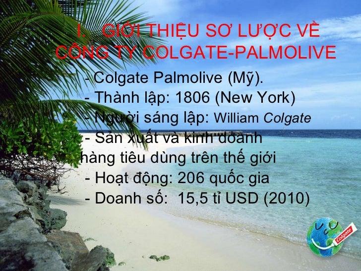 Colgate palmolive (việt nam ) Slide 3
