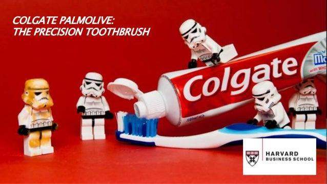colgate palmolive precision toothbrush case study