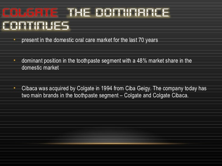 positioning on colgate cibaca Promotion they positioning colgate dental white crème and toothpowder towards rural rich segment for rural consuming class they endorsing cibaca toothpaste ads -placed in dentist offices, billboards, and advertising the sides of buses advertisement through tv media, print media.