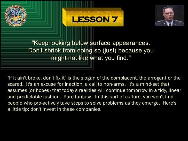 "LESSON 15 Part I: ""Use"