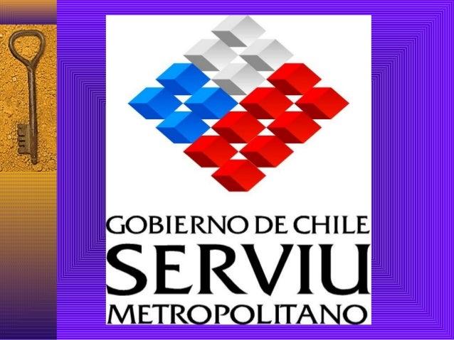 """PROGRAMA """"VIDA EN COMUNIDAD"""" SERVIU Metropolitano Villa San Antonio Comuna de Colina Septiembre 2005 – Abril 2006"""