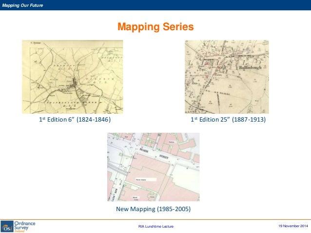 Osi Map Of Ireland.Colin Bray Ce Osi Ordnance Survey Ireland Mapping Our Future 1