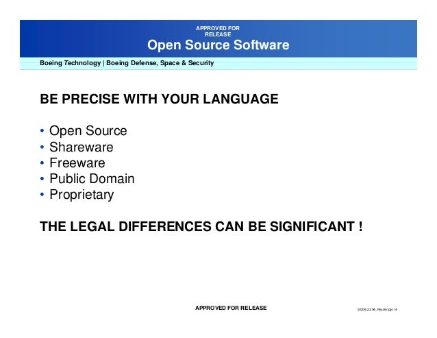 Freeware Falls In Category Compensation  C B What In House Counsel Should Know About The Use Of Open Source Software In Their Organizations