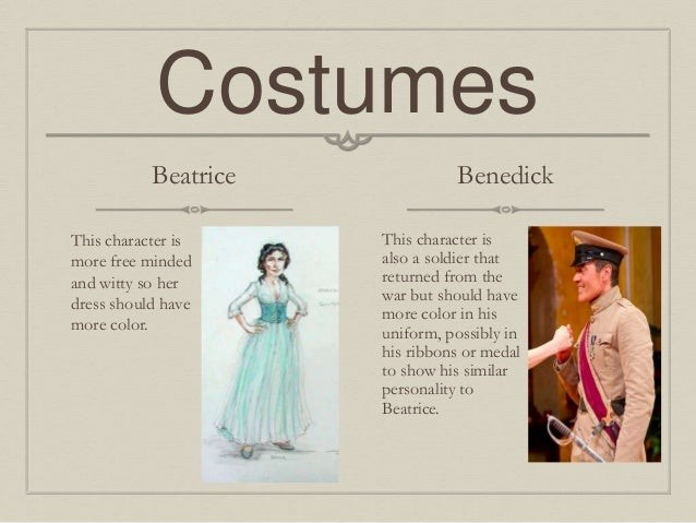 essays on much ado about nothing beatrice and benedick Home → sparknotes → shakespeare study guides → much ado about nothing → a+ student essay much ado provide entertainment for beatrice and benedick.