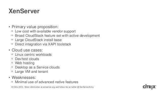 Hypervisor selection in cloudstack for Xenserver pool design