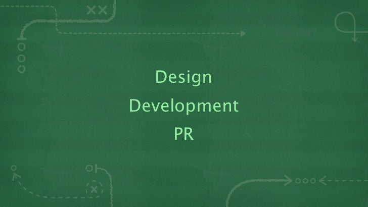 DesignDevelopment    PR